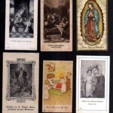 Postales: 6 ESTAMPAS RELIGIOSAS.. Lote 41674599