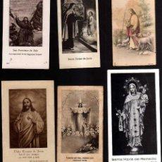 Postales: 6 ESTAMPAS RELIGIOSAS.. Lote 41674603
