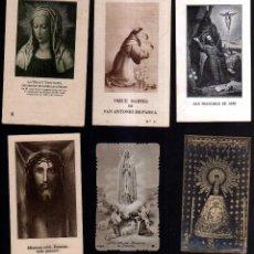 Postales: 6 ESTAMPAS RELIGIOSAS.. Lote 41674609