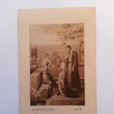 Postales: ESTAMPA JESUS RECUERDO DE VIGILIA 1922 EN ADORACION NOCTURNA. Lote 41915284