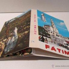 Postales: BLOC POSTAL FATIMA PORTUGAL. DESPLEGABLE DE 24 POSTALES. Lote 42147312