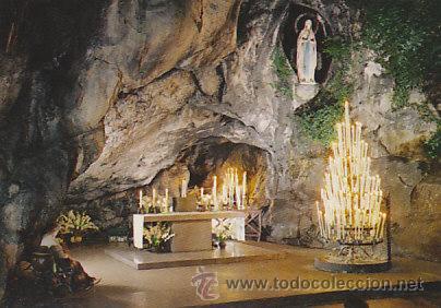LOURDES, LA GRUTA MILAGROSA (Postales - Postales Temáticas - Religiosas y Recordatorios)