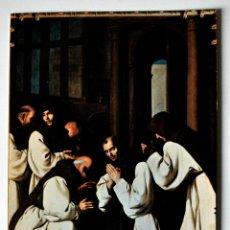 Postales: POSTAL RELIGIOSA. SACRISTIA P. CARRION (ZURBARAN) GUADALUPE . Lote 42420059