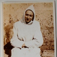 Postales: POSTAL RELIGIOSA, HERMANO RAFAEL ARNAIZ Y BARON, MONJE CISTERCIENSE . Lote 42420113