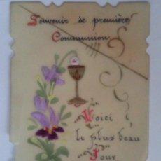 Postales: RECUERDO PRIMERA COMUNION, MAYO 1906, FRANCIA. Lote 42458663