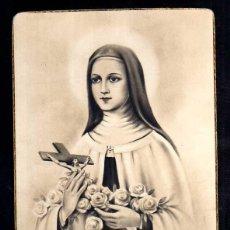 Postales: POSTAL RELIGIOSA. SANTA TERESITA DEL NIÑO JESÚS. NO CIRCULADA. . Lote 42615086