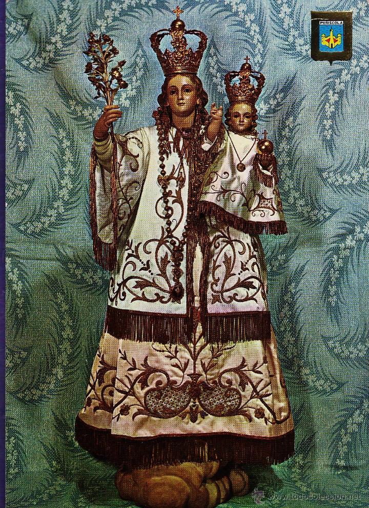 POSTAL RELIGIOSA - NTRA SRA DE LA ERMITANA - PEÑISCOLA - Nº 113 - ED.COMAS - NUEVA - AÑO 1977 - (Postales - Postales Temáticas - Religiosas y Recordatorios)