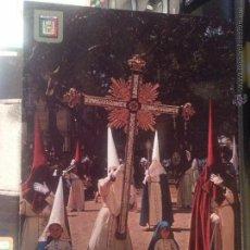 Postales: POSTAL RELIGIOSA SEMANA SANTA MALAGA , N 9 DOMINGO RESURRECCION ESCUDO DE ORO. Lote 42639437