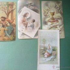Postales: ESTAMPAS ANTIGUAS PRIMERA COMUNION AÑOS 40.. Lote 42816662