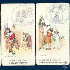 Postales: 0650H -LOS PECADOS CAPITALES - 7 ANTIGUAS POSTALES CON SOBRE DE ÉPOCA - EDIC. NB. Lote 42881553