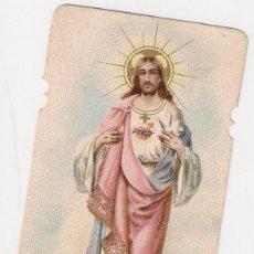 Postales: ESTAMPA DEL CORAZON DE JESUS, COR JESU, AÑOS 40. Lote 43119217