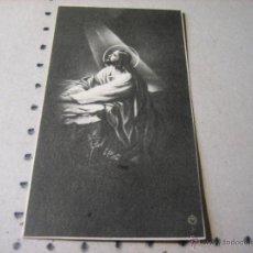 Postales: ESQUELA MORTUORIA. ESTAMPA DEFUNCION: EL FERROL DEL CAUDILLO 1943. Lote 43164413