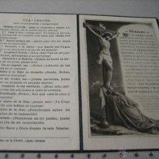 Postales: ESQUELA MORTUORIA. ESTAMPA DEFUNCION: CORDOBA 1954. Lote 43189576