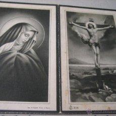 Postales: ESQUELA MORTUORIA. ESTAMPA DEFUNCION: SEVILLA 1946. Lote 43198416