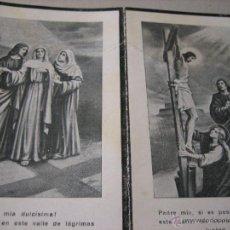 Postales: ESQUELA MORTUORIA. ESTAMPA DEFUNCION: BOT (TARRAGONA) 1938. Lote 43198942