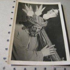 Postales: ESTAMPA RELIGIOSA: FOTOGRAFIA CRISTO. FOTO SERRANO SEVILLA. Lote 43248456