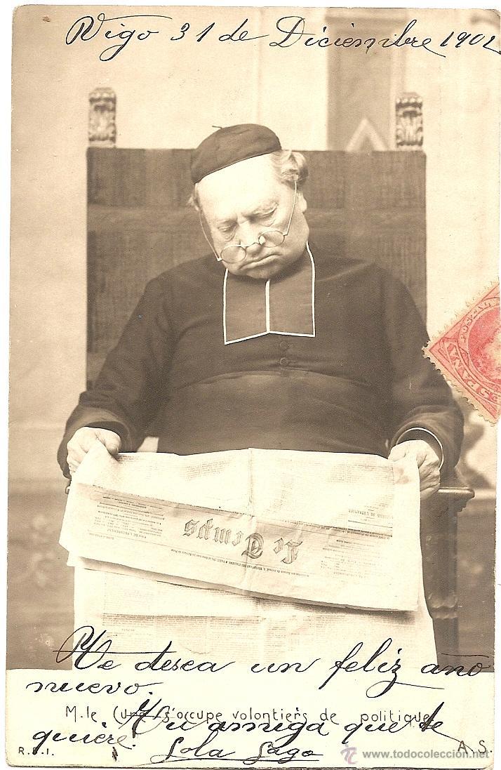 Postal francesa circulada en espaa ao 1902 - - Vendido en Venta