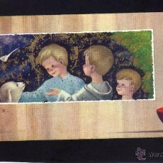Postales: ANTIGUA ESTAMPA COMUNION - DIBUJO BENAGES - SIN TEXTO.. Lote 43283379