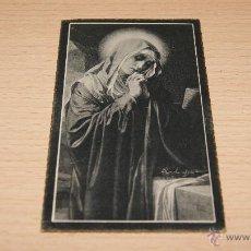 Postales: ESTAMPA RELIGIOSA RECORDATORIO ESQUELA - 11 CM. * 6,5 CM.. Lote 43526581
