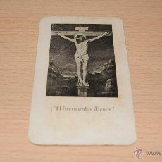 Postales: ESTAMPA RELIGIOSA CRISTO CRUCIFICADO - 11,5 CM. * 6,5 CM.. Lote 43526820