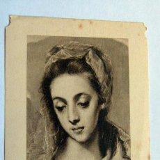 Postales: ESTAMPA RELIGIOSA RECORDATORIO DE PRIMERA MISA VILLALONGA 1956. Lote 43602253