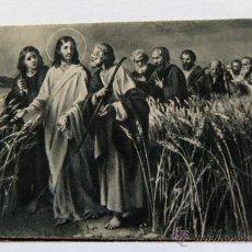 Postales: VIEJA ESTAMPA RELIGIOSA RECORDATORIO DE DEFUNCIÓN VALENCIA 1942. Lote 43612531