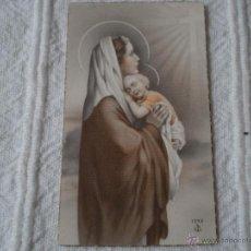 Postales: ANTIGUA ESTAMPA PRIMERA COMUNION,SAN JUAN DE AZNALFARACHE,SEVILLA,1949.. Lote 43857274