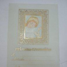 Postales: ESTAMPA RECORDATORIO - SIN IMPRIMIR - NIÑO JESUS CON OVEJA. Lote 43877668
