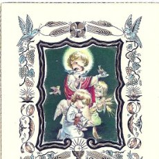 Postales: 0681M - FERRÁNDIZ - ANTIGUO RECORDATORIO EN RELIEVE- EDICIONES SUBI Nº 4309. Lote 43983891