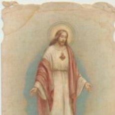 Postales: COR JESU SACRATISSIMUM. RECUERDO DE LA NUEVA IMAGEN EXPUESTA EN SAN MARCOS. SE-. Lote 44198820