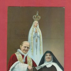 Postales: POSTAL RELIGIOSA - VIRGEN DE FÁTIMA - PORTUGAL - PV.520. Lote 44332890
