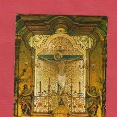 Postales: POSTAL RELIGIOSA - CRISTO DEL SALVADOR - TERUEL - PV.547. Lote 44334959