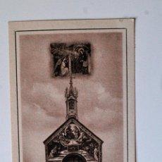 Postales: ESTAMPITA RELIGIOSA ANTIGUA. LA PROZIUNCOLA (ITALIA). Lote 44803537