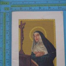 Postales: RECORDATORIO RELIGIOSO. LIBRETO. NOVENA Y TRIDUO A SANTA RITA DE CASIA. 46 PÁGINAS. Lote 44814868