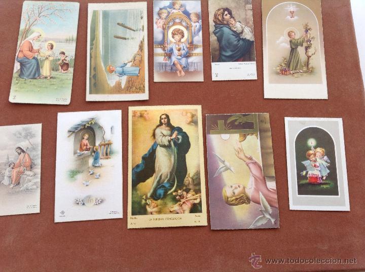 RECORDATORIOS AÑOS 50 Y 60 (Postales - Postales Temáticas - Religiosas y Recordatorios)