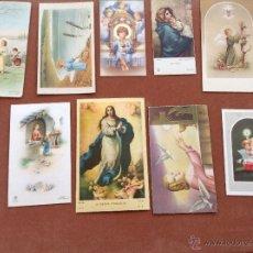 Postales: RECORDATORIOS AÑOS 50 Y 60. Lote 44907771