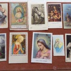 Postales: RECORDATORIOS RELIGIOSOS AÑOS 50 Y 60. Lote 44907905