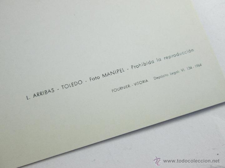 Postales: LOTE DE 3 POSTALES-1964-TOLEDO-GRECO-ENTIERRO DEL C.ORGAZ+LAG.SAN PEDRO+-25X20 CMS-FOURNIER - Foto 5 - 44983937