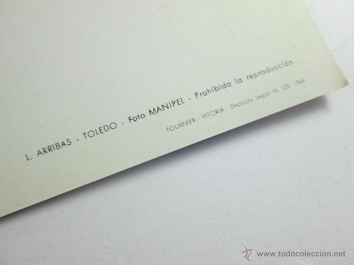 Postales: LOTE DE 3 POSTALES-1964-TOLEDO-GRECO-ENTIERRO DEL C.ORGAZ+LAG.SAN PEDRO+-25X20 CMS-FOURNIER - Foto 14 - 44983937