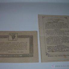 Postales: ESTAMPAS RELIGIOSAS...SIGLO XIX.. Lote 45065538