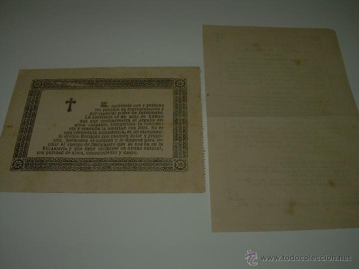 Postales: ESTAMPAS RELIGIOSAS...SIGLO XIX. - Foto 4 - 45065538