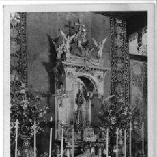 Postales: POSTAL SANT JORDI ALTAR DE PLATA CAPILLA SAN JORGE DIPUTACION BARCELONA SIN CIRCULAR. ANTIGUA. Lote 45094607