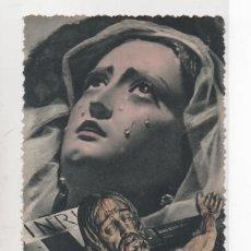 Postales: MARIA STMA. DE LA AMARGURA (ZAMARRILLA) Y STMO CRISTO DE LOS MILAGROS. Lote 45181147