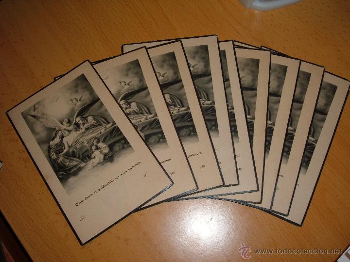 LOTE ANTIGUOS RECORDATORIOS (Postales - Postales Temáticas - Religiosas y Recordatorios)