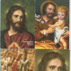 Postales: 1180 VENTE Y SEIS POSTALES DIFERENTES RELIGIOSAS VER FOTOS ADICIONALES . Lote 45224477