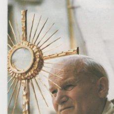 Postales: ESTAMPA RELIGIOSA DEL PAPA JUAN PABLO II . Lote 45314398