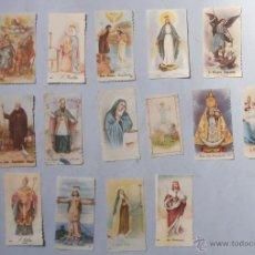 Postales: COLECCION ESTAMPAS RELIGIOSAS. Lote 45517555