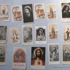 Postales: COLECCION ESTAMPAS RELIGIOSAS. Lote 45517677