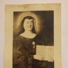 Postales: BONITA TARGETA POSTAL. RELIGIOSA. SANTA MARIA MICAELA.SIN USO. Lote 45588687
