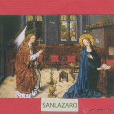 Postales: POSTAL RELIGIOSA- IMAGEN DE LA ANUNCIACIÓN - MAESTRO DE AQUISGRÁN- MUSEO DEL PRADO-PV.832. Lote 45591103